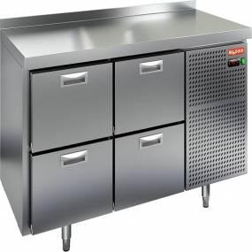 Холодильный стол с выдвижными ящиками