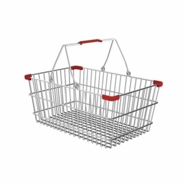 Корзина покупательская V=20 - купить в интернет-магазине key-t.com