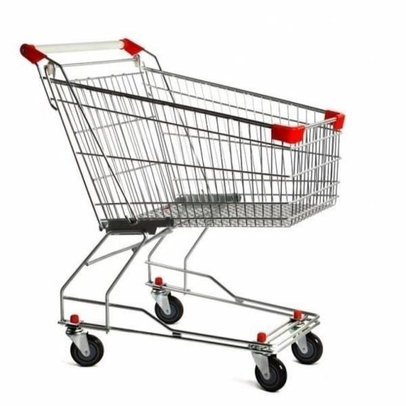 Тележка покупательская SXC 60A - купить в интернет-магазине key-t.com