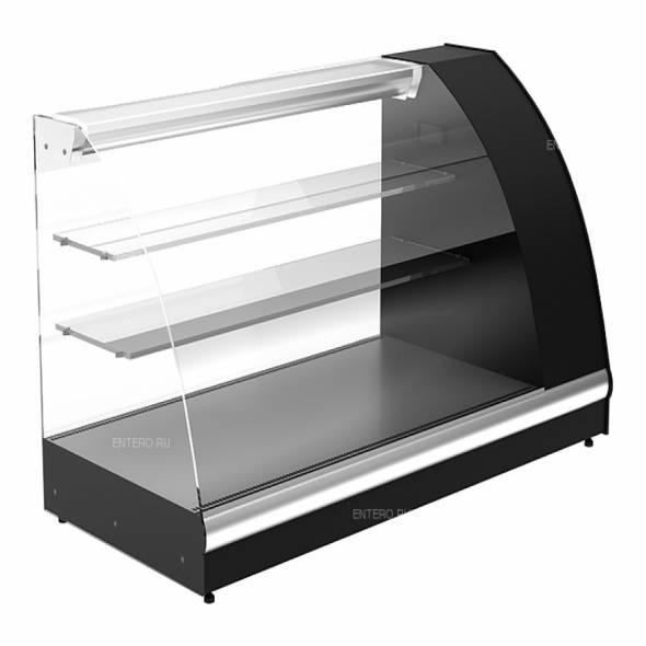 Витрина холодильная Carboma A57 VM 1,2-1 (ВХС-1,2 Арго XL) черная - купить в интернет-магазине key-t.com