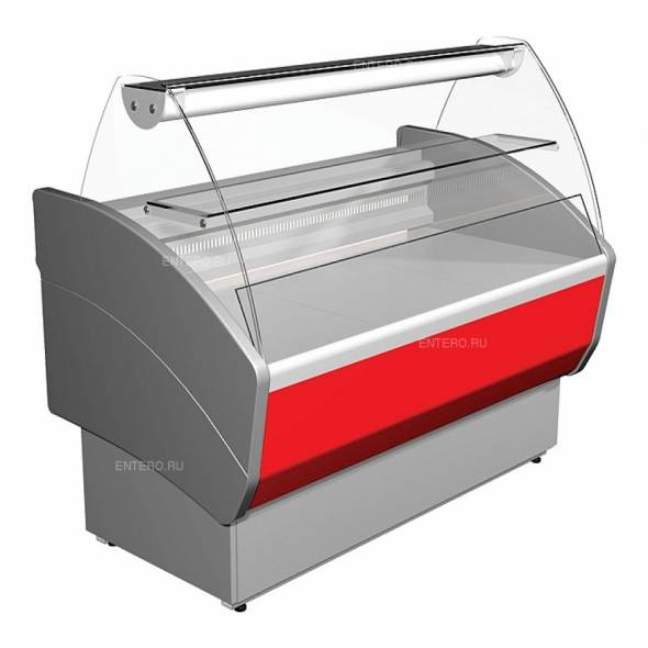 Витрина холодильная Carboma G85 SV 1,2-1 (ВХСр-1,2 ЭКО) - купить в интернет-магазине key-t.com