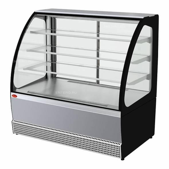 Витрина холодильная Марихолодмаш VS-1,3 Veneto new нерж. - купить в интернет-магазине key-t.com