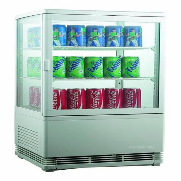 Витрина холодильная Cooleq CW-58 - купить в интернет-магазине key-t.com
