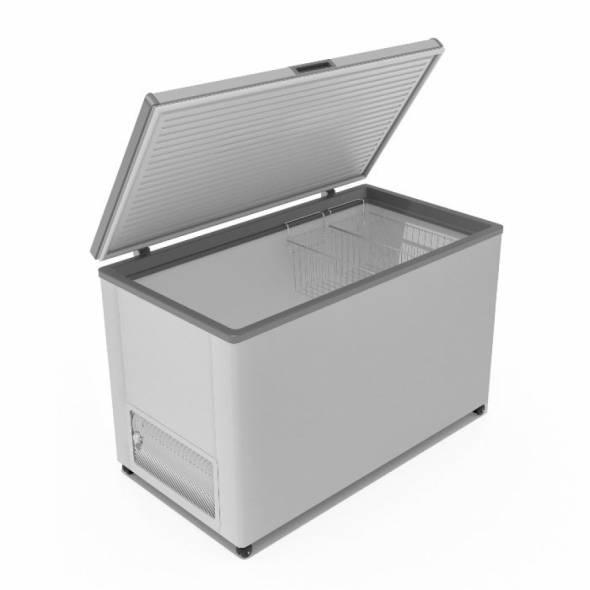 Морозильный ларь с глухой крышкой F 400 S - купить в интернет-магазине key-t.com