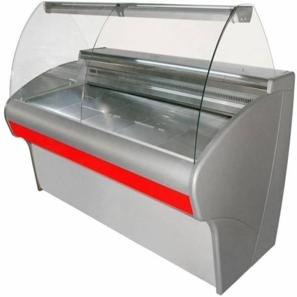 Витрина холодильная Carboma ВХС-1,5 - купить в интернет-магазине key-t.com
