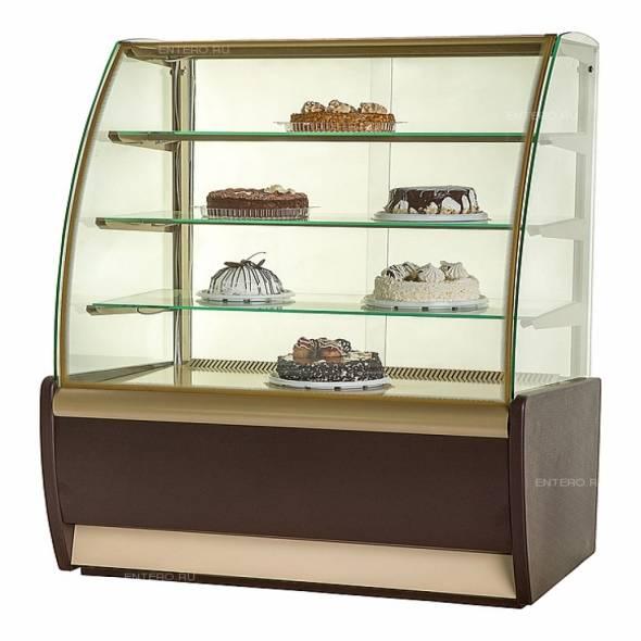 Витрина нейтральная Carboma K70 N 1,3-1 (1,3) - купить в интернет-магазине key-t.com