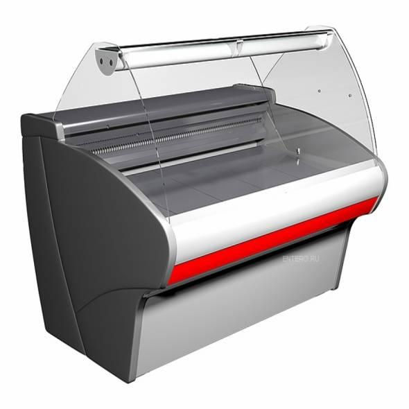 Витрина холодильная Carboma G110 SV 1,5-1 (ВХСр-1,5 Сarboma G110) (статика) - купить в интернет-магазине key-t.com
