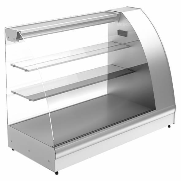 Витрина холодильная Carboma A57 VM 1,2-1 (ВХС-1,2 Арго XL) серая - купить в интернет-магазине key-t.com