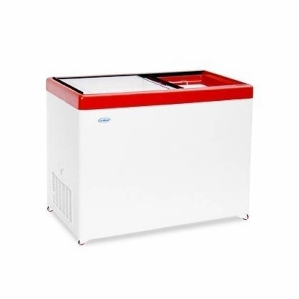Морозильный ларь с прямым стеклом МЛП-400 - купить в интернет-магазине key-t.com