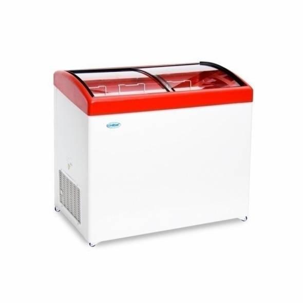 Морозильный ларь с гнутым стеклом МЛГ-250 - купить в интернет-магазине key-t.com