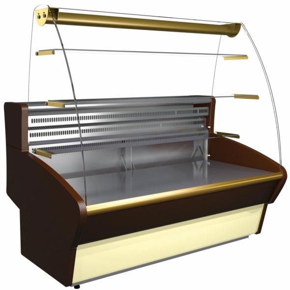 Витрина кондитерская Carboma K85 SM 1,5-1 (ВХСд-1,5 ЭКО) - купить в интернет-магазине key-t.com