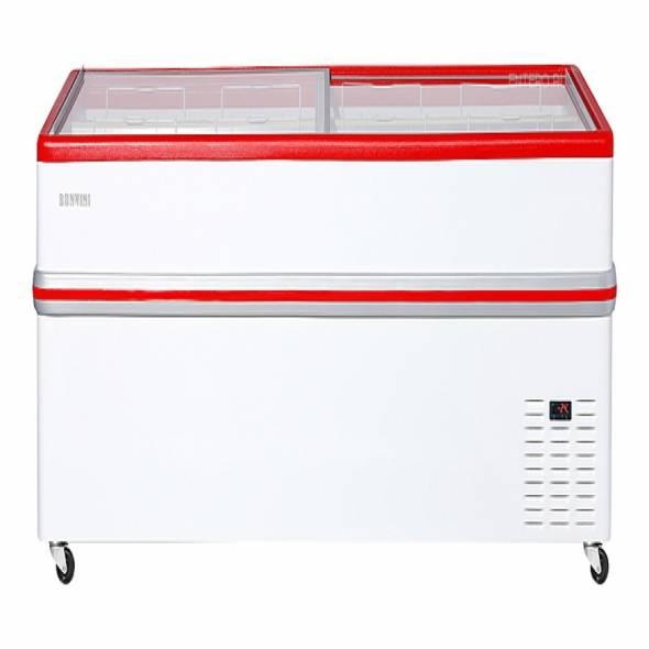 Ларь -бонета Bonvini BF 2100L красная/серая - купить в интернет-магазине key-t.com