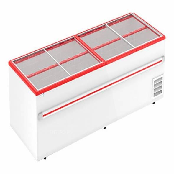 Ларь -бонета морозильная Frostor F 2500 B красная - купить в интернет-магазине key-t.com
