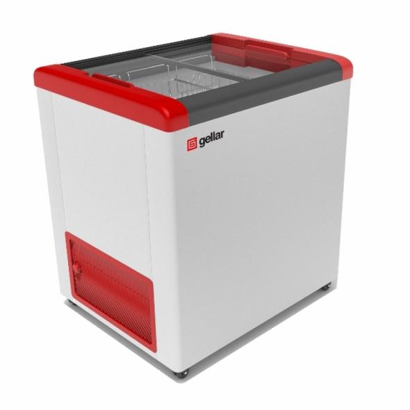 Ларь морозильный Frostor GELLAR FG 250 C красный - купить в интернет-магазине key-t.com