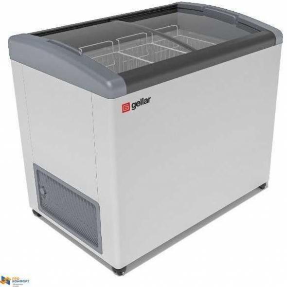 Ларь морозильный Frostor GELLAR FG 475 E серый - купить в интернет-магазине key-t.com