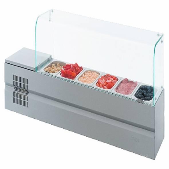 Витрина холодильная ATESY Болоньезе-6 - купить в интернет-магазине key-t.com