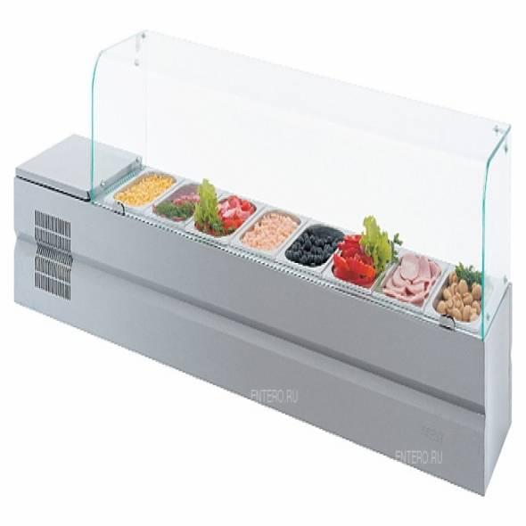Витрина холодильная ATESY Болоньезе-8 - купить в интернет-магазине key-t.com
