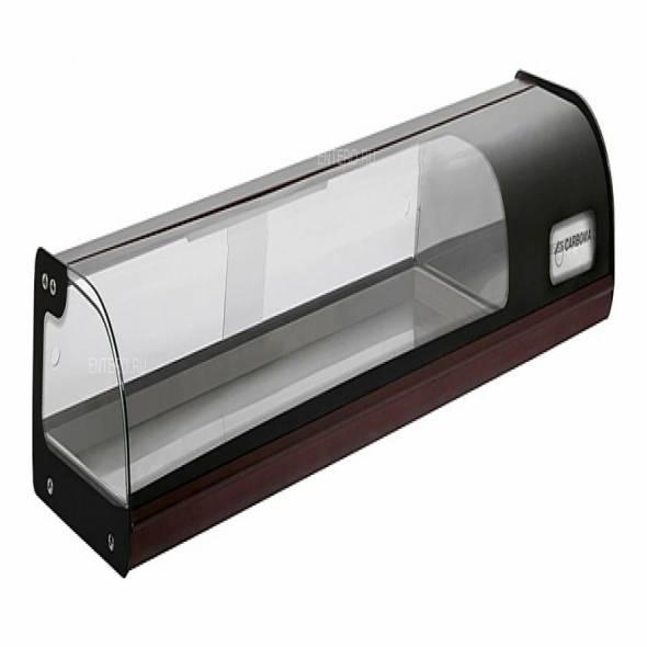 Витрина холодильная Carboma A37 SM 1,8-1 (ВХСв-1,8) (8 GN 1/3) - купить в интернет-магазине key-t.com