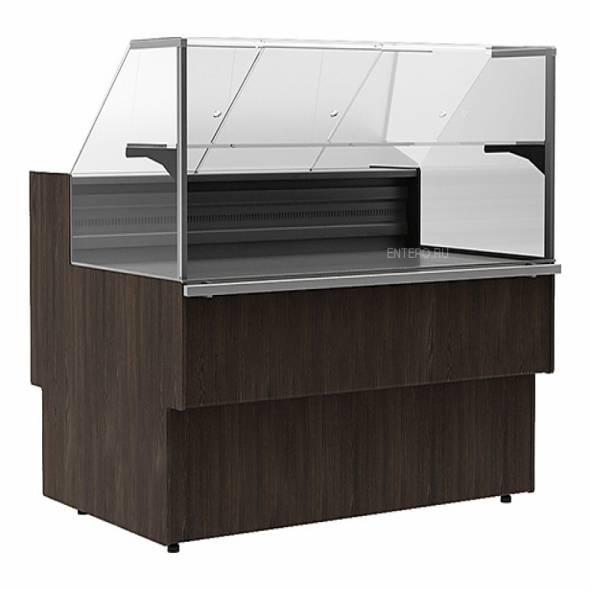 Витрина морозильная Carboma GC110 SL 1,25-1 (ВХСн-1,25 GC110) (статика) - купить в интернет-магазине key-t.com