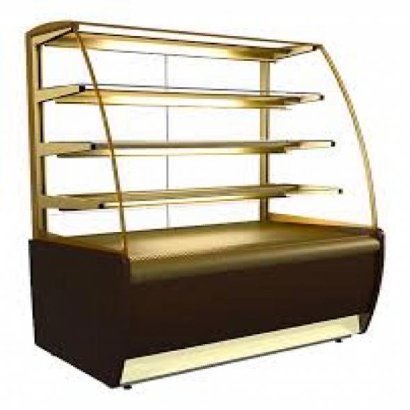 Витрина кондитерская Carboma K70 VV 1,3-1 (ВХСв - 1,3д Люкс) - купить в интернет-магазине key-t.com