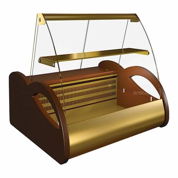 Витрина кондитерская Carboma А87 SV 1,0-1 (ВХСн-1,0 Арго Люкс) - купить в интернет-магазине key-t.com