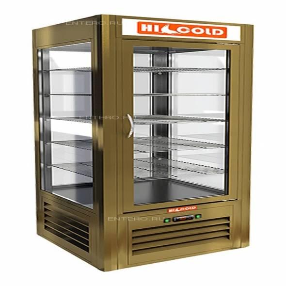Витрина кондитерская HICOLD VRC 350 BZ SH - купить в интернет-магазине key-t.com