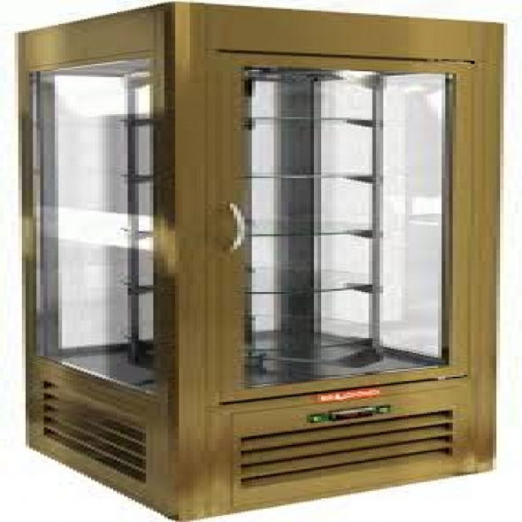Витрина кондитерская HICOLD VRC 350 Bz - купить в интернет-магазине key-t.com