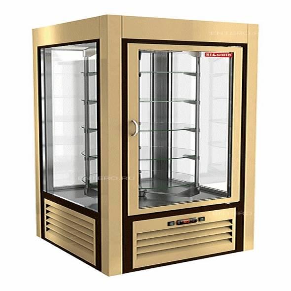 Витрина кондитерская HICOLD VRC 350 R Sh Be - купить в интернет-магазине key-t.com