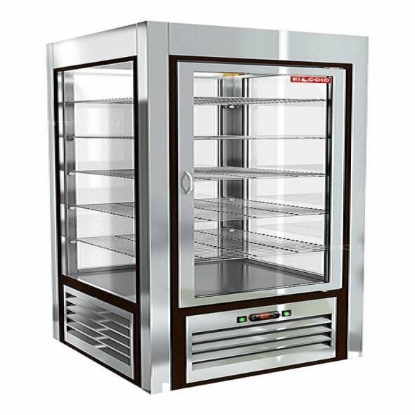 Витрина кондитерская HICOLD VRC 350 Sh - купить в интернет-магазине key-t.com