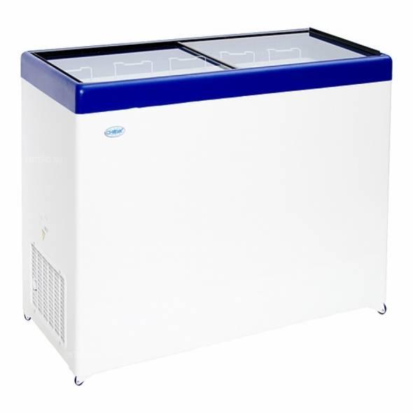 Ларь морозильный Снеж МЛП-500 серый/синий/красный - купить в интернет-магазине key-t.com
