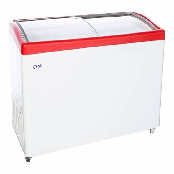 Ларь морозильный Снеж МЛГ-500 серый/синий/красный - купить в интернет-магазине key-t.com