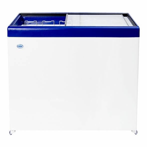 Ларь морозильный Снеж МЛП-600 серый/синий/красный - купить в интернет-магазине key-t.com