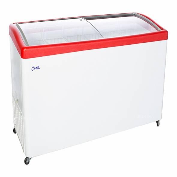Ларь морозильный Снеж МЛГ-600 серый/синий/красный - купить в интернет-магазине key-t.com