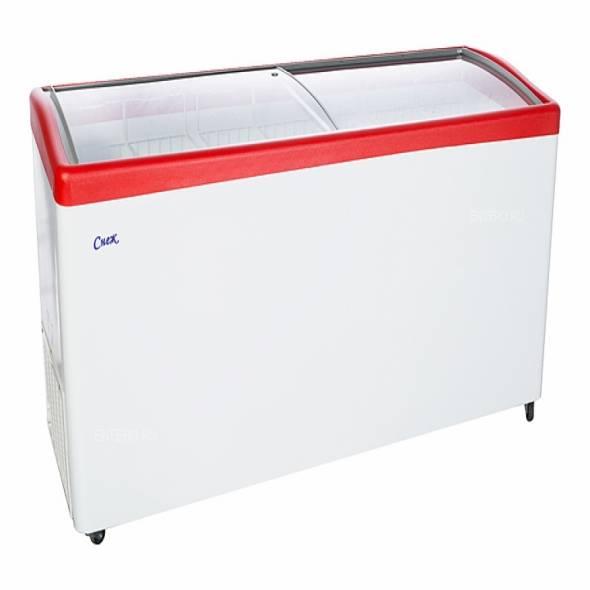 Ларь морозильный Снеж МЛГ-700 серый/синий/красный - купить в интернет-магазине key-t.com