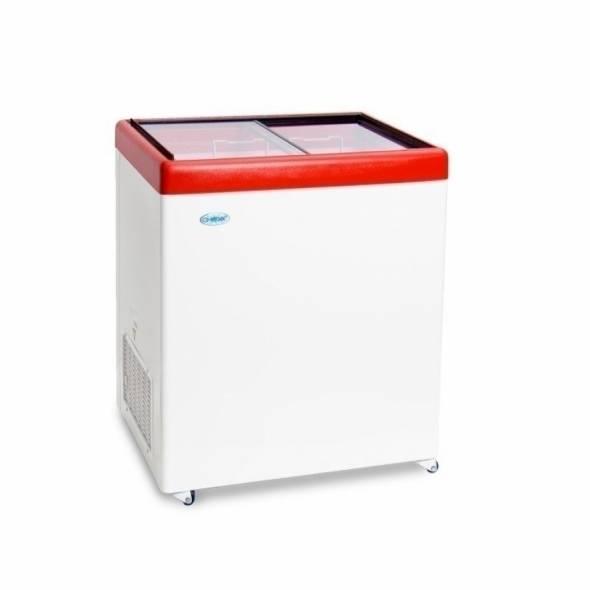 Морозильный ларь с прямым стеклом МЛП-250 - купить в интернет-магазине key-t.com