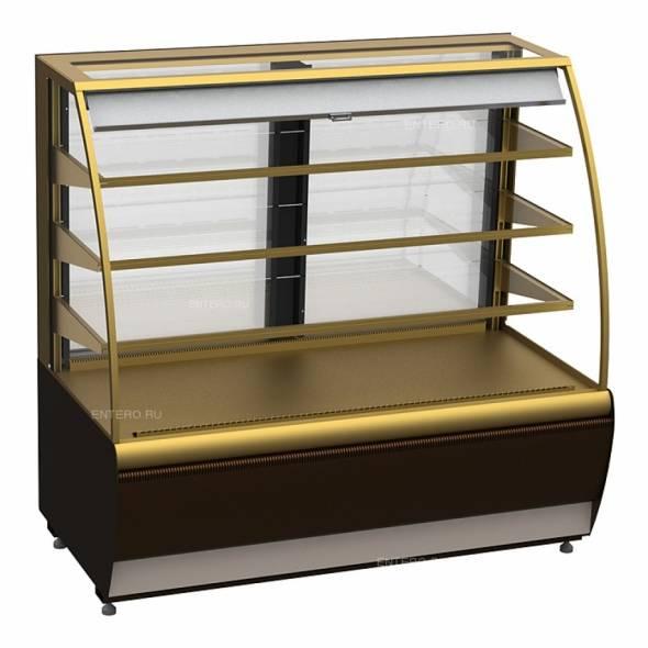 Витрина кондитерская Carboma K70 VM 1,3-2 (ВХСв - 1,3д) (открытая) - купить в интернет-магазине key-t.com