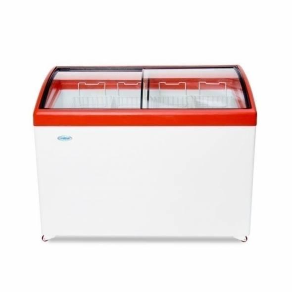 Морозильный ларь с гнутым стеклом МЛГ-400 - купить в интернет-магазине key-t.com
