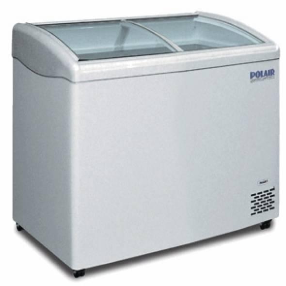 Морозильный ларь с гнутым стеклом DF140SC-S - купить в интернет-магазине key-t.com