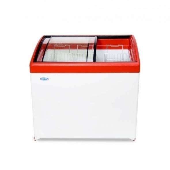 Морозильный ларь с гнутым стеклом МЛГ-350 - купить в интернет-магазине key-t.com