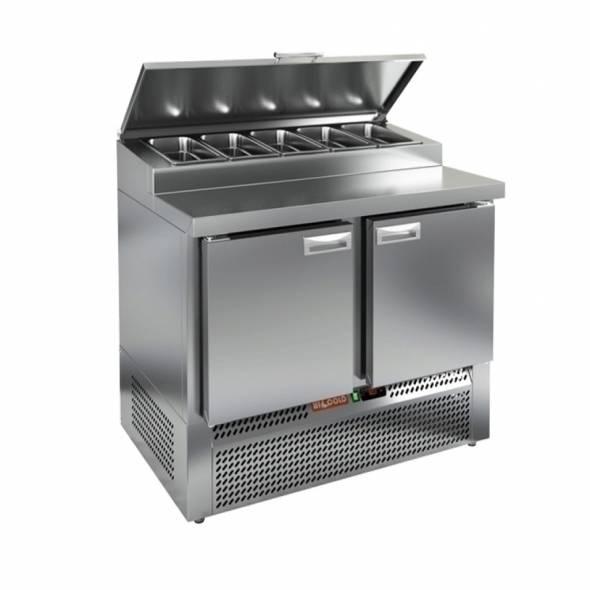 Холодильный стол HiCold PZE1-11/GN - купить в интернет-магазине key-t.com