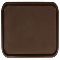 Поднос 53*33см темно-коричневый