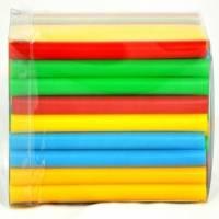 Трубочки 0,5х12,5 см, (100 шт./уп.), цветные