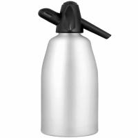 Сифон для газирования воды 1,0 л. серебро