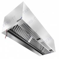 Зонт пристенный приточно-вытяжной коробчатый МВО-1,0МС-0,7ПК