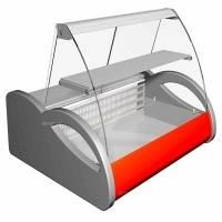 Витрина холодильная Carboma A37 SM 1,0-1 (ВХСв-1,0) (4 GN 1/3)