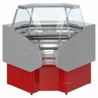 Витрина холодильная Golfstream Двина УВ 90 ВС красная - купить в интернет-магазине key-t.com