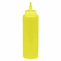 Диспенсер для бара жёлтый (соусник) 375 мл