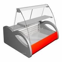 Витрина холодильная Полюс A87 SM 1,0-1 (ВХС-1,0 Арго)