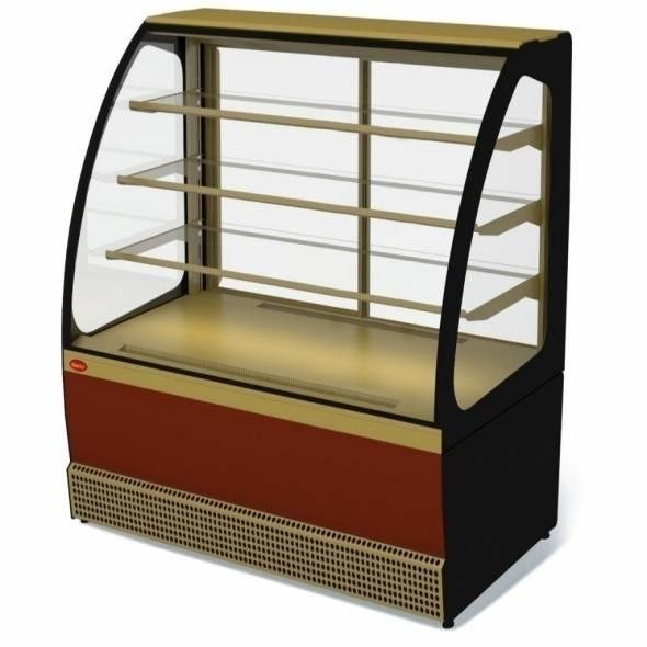 Витрина холодильная VENETO VS-1.3 - купить в интернет-магазине key-t.com